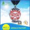 Emblema militare della medaglia del medaglione di sport del metallo su ordinazione professionale del ricordo