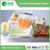 Sac en plastique d'emballage de nourriture de vide de Tranparent de PE de PA