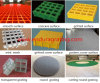 Reja moldeada fibra de vidrio para los ambientes corrosivos