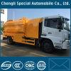 Servicio de limpieza de alta presión Dongfeng Flushing Camión