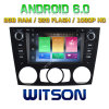 Carro DVD do Android 6 do núcleo de Witson oito para BMW E90