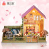 Happy Family Play Wooden Miniature Doll House