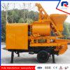 De Capaciteit van de Vultrechter van de Vervaardiging van Pully 800L voor Dorp, Weg, de Concrete Pomp van de Aanhangwagen van de Bouw van de Tunnel van de Brug met Mixer voor Verkoop in India (jbt40-l)