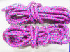 Corde de saut en nylon tressée de chaîne de caractères sans traitement