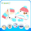 Горячее Sale Lovely Knitted Baby Cap и Scarf Set