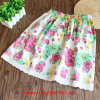 Girl를 위한 100%년 면 Colorful Water Print Leisure Skirt