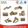 Fabricante del segmento del diamante de la piedra arenisca del mármol del granito de China/segmento del diamante de corte rápido para el corte por bloques del granito
