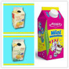 caixas frescas da parte superior do frontão do leite 500ml