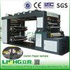 Machine d'impression de couleur de la vitesse 4 de Ruian Lisheng Flexo