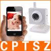 Beste verkaufenh.-264 Sensor WiFi drahtlose Infrarotnetz IP-Kamera Pixel 300k VGA-CMOS, die bewegliche Betrachtung, stützensoem stützt