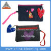 Portable Canvas Cosmetic Mobile Phone Key Stationery Bag