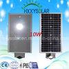 LED todo en una luz de calle solar 10W