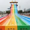 Trasparenza di acqua del Rainbow con la moquette di slittamento