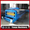 La capa doble de la presión hidroide esmaltó el rodillo del azulejo que formaba la máquina