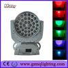 Het Gezoem die van het nieuwe Product 36*18W Hoofd Lichte Directe Fabriek bewegen