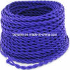 Il rayon Panno-Ha coperto il cavo elettrico Twisted Braided del collegare della lampada