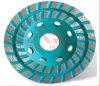 Double rangée de roue de la Coupe du meulage diamant Turbo,roue Dimond tasse pour le meulage Pierre et le béton