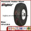 Fatto in rotella di gomma pneumatica X3.50-4 della Cina 10
