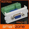 VGA Wall Plate , AV del panel frontal ( 9.1126 )