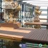 Revestimento projetado WPC do Decking de China para o projeto vivo ao ar livre