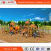 판매 (HD-MZ044)를 위한 대중적인 재미있은 아이들 슬라이더 위락 공원 나무로 되는 활주