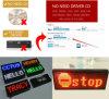 Mensaje de P12 LED que se mueve haciendo publicidad del tablero