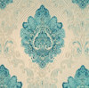 고밀도 가정 직물을%s 털실에 의하여 염색되는 자카드 직물 새로운 패턴 직물
