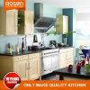 Estilo Simples sólidos de madeira de teca com cores de Maple armário de cozinha