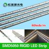 12V/24V bonne lumière de bande rigide de la qualité SMD5050 DEL de dc 60LEDs/M avec du ce, Lm-80