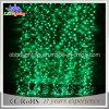 Luzes claras decorativas da cortina do Natal do diodo emissor de luz do bom verde do preço