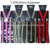2016 kleurt Hete Dame Style Shiny Suspenders Multi 1.5*100cm