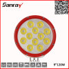 9inch 9-32V IP68 120W 10800lm 4X4 СИД Auxiliary Driving Work Light