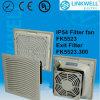 El polvo del filtro de panel