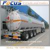 Conception légère 45-60cbm pétrolier du réservoir de carburant en aluminium//camion utilitaire semi-remorque