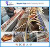 Chaîne de production de profil de la consommation d'énergie inférieure WPC, machine d'extrusion de WPC pour la frontière de sécurité