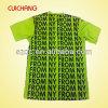 OEM 100 Polyester Black O-Neck Printed Basic T-Shirt Manufacture