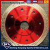 Lame de scie diamantée segmentée circulaire de 110 mm pour pierre