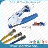 Het professionele Coaxiale Hulpmiddel van de Compressie van de Kabel Rg58 Rg59 RG6 voor de Schakelaar van F