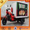 Triciclo cerrado de la carga de la comida china