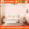 Habitación de color rosa con el precio de fábrica Non-Woven Wallcovering