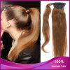 Ponytail euroasiatico diritto dei capelli umani del Virgin di modo 6#