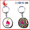 Trousseau de clés de logo de véhicule de souvenir de qualité de mode