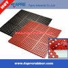 Anti-Fatigue Rubber Flooring Mat Interlocking Ring Oco / Grass Rubber Mat