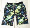 Shorts impressos Mens da praia