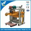 Machine de fabrication de brique Qt40-2 de pavage semi automatique