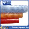 Manguitos reforzados espiral de la succión del PVC