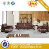 Italia clásica de madera de diseño de mobiliario de oficina oficina de cuero sofá (HX-SN8024)