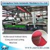 Máquina de corte textil automática de paño de tela cabezal cortador final