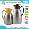 Brocca doppia standard del caffè di vuoto dell'acciaio inossidabile dell'acqua di Janpaness (JSCE012)