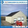 Almacén prefabricado de acero del edificio de la vertiente del bajo costo